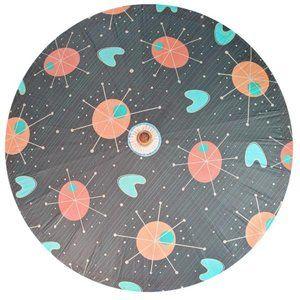 Accessories - Spacecapades Retro Space Black Paper Shade Parasol